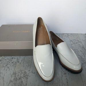 NEW Franco Sarto white cypress loafers